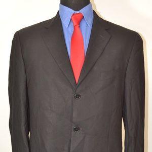 Joseph Abboud 40L Sport Coat Blazer Suit Jacket Bl